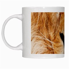 Africa African Animal Cat Close Up White Mugs