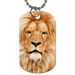 Africa African Animal Cat Close Up Dog Tag (one Side)