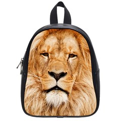 Africa African Animal Cat Close Up School Bag (small)