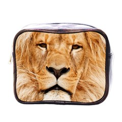 Africa African Animal Cat Close Up Mini Toiletries Bags