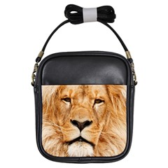 Africa African Animal Cat Close Up Girls Sling Bags