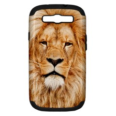 Africa African Animal Cat Close Up Samsung Galaxy S Iii Hardshell Case (pc+silicone)