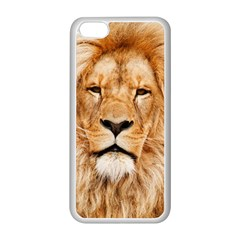Africa African Animal Cat Close Up Apple Iphone 5c Seamless Case (white)