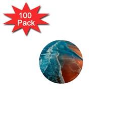 Sea Ocean Coastline Coast Sky 1  Mini Magnets (100 Pack)