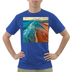 Sea Ocean Coastline Coast Sky Dark T Shirt