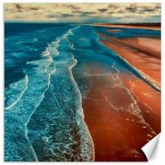 Sea Ocean Coastline Coast Sky Canvas 20  X 20