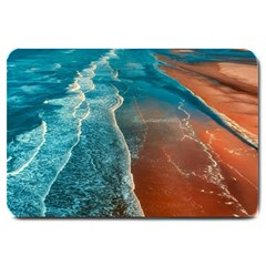 Sea Ocean Coastline Coast Sky Large Doormat