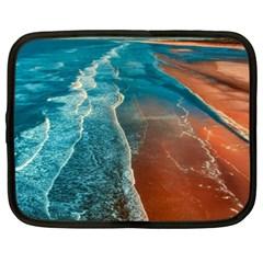 Sea Ocean Coastline Coast Sky Netbook Case (xxl)