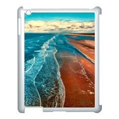 Sea Ocean Coastline Coast Sky Apple Ipad 3/4 Case (white)