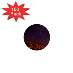 Italy Cabin Stars Milky Way Night 1  Mini Buttons (100 Pack)