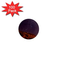 Italy Cabin Stars Milky Way Night 1  Mini Magnets (100 Pack)
