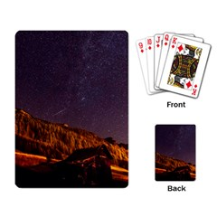 Italy Cabin Stars Milky Way Night Playing Card