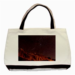 Italy Cabin Stars Milky Way Night Basic Tote Bag (two Sides)