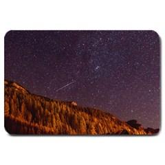 Italy Cabin Stars Milky Way Night Large Doormat