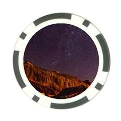 Italy Cabin Stars Milky Way Night Poker Chip Card Guard