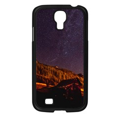 Italy Cabin Stars Milky Way Night Samsung Galaxy S4 I9500/ I9505 Case (black)