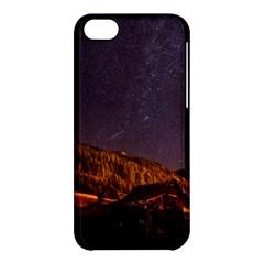 Italy Cabin Stars Milky Way Night Apple Iphone 5c Hardshell Case