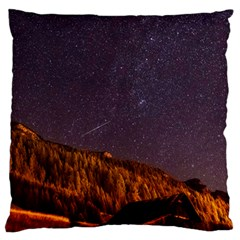 Italy Cabin Stars Milky Way Night Large Flano Cushion Case (two Sides)