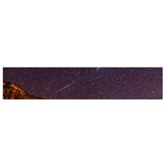 Italy Cabin Stars Milky Way Night Small Flano Scarf