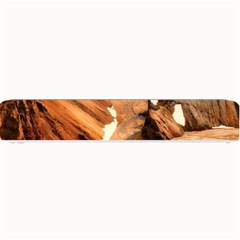 Iceland Mountains Snow Ravine Small Bar Mats