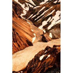 Iceland Mountains Snow Ravine 5 5  X 8 5  Notebooks