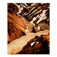 Iceland Mountains Snow Ravine Shower Curtain 60  X 72  (medium)