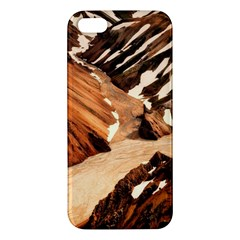Iceland Mountains Snow Ravine Iphone 5s/ Se Premium Hardshell Case