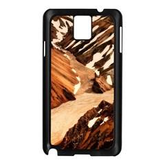 Iceland Mountains Snow Ravine Samsung Galaxy Note 3 N9005 Case (black)