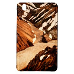Iceland Mountains Snow Ravine Samsung Galaxy Tab Pro 8 4 Hardshell Case