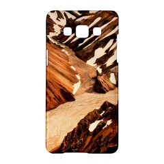 Iceland Mountains Snow Ravine Samsung Galaxy A5 Hardshell Case