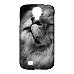 Feline Lion Tawny African Zoo Samsung Galaxy S4 Classic Hardshell Case (pc+silicone)