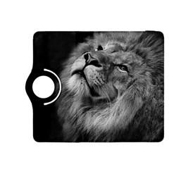 Feline Lion Tawny African Zoo Kindle Fire Hdx 8 9  Flip 360 Case