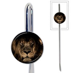 African Lion Mane Close Eyes Book Mark