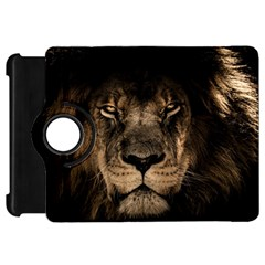 African Lion Mane Close Eyes Kindle Fire Hd 7