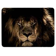 African Lion Mane Close Eyes Samsung Galaxy Tab 7  P1000 Flip Case
