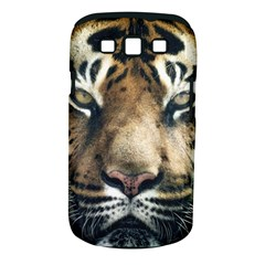 Tiger Bengal Stripes Eyes Close Samsung Galaxy S Iii Classic Hardshell Case (pc+silicone)