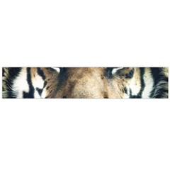 Tiger Bengal Stripes Eyes Close Large Flano Scarf