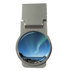 Aurora Borealis Lofoten Norway Money Clips (round)