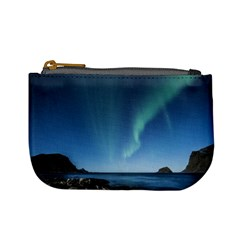 Aurora Borealis Lofoten Norway Mini Coin Purses