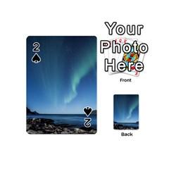 Aurora Borealis Lofoten Norway Playing Cards 54 (mini)
