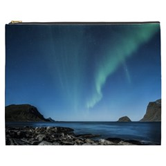 Aurora Borealis Lofoten Norway Cosmetic Bag (xxxl)