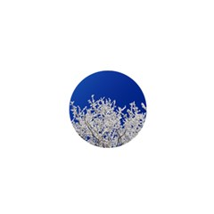 Crown Aesthetic Branches Hoarfrost 1  Mini Buttons