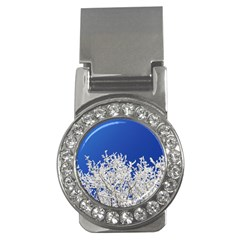 Crown Aesthetic Branches Hoarfrost Money Clips (cz)