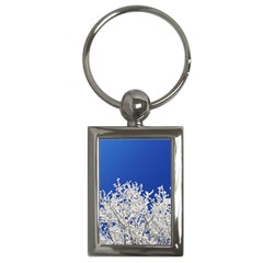 Crown Aesthetic Branches Hoarfrost Key Chains (rectangle)