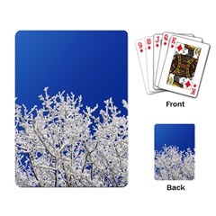 Crown Aesthetic Branches Hoarfrost Playing Card