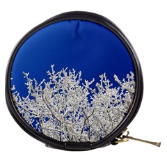 Crown Aesthetic Branches Hoarfrost Mini Makeup Bags