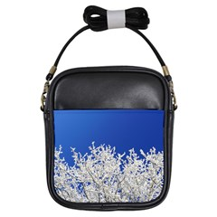 Crown Aesthetic Branches Hoarfrost Girls Sling Bags