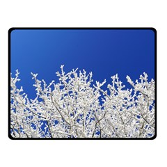 Crown Aesthetic Branches Hoarfrost Fleece Blanket (small)