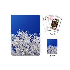 Crown Aesthetic Branches Hoarfrost Playing Cards (mini)