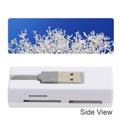 Crown Aesthetic Branches Hoarfrost Memory Card Reader (stick)